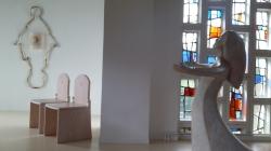 La chapelle de notre centre d'hébergement à Lisieux.