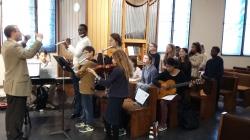 Cette année, la messe de confirmation a été animée par les musiciens du collège