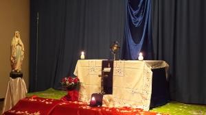 Temps d'adoration semaine sainte###Lors de notre journée NDL et